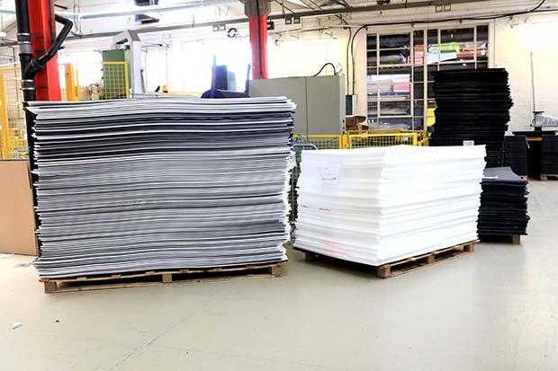 range of low and high density foam sheeting